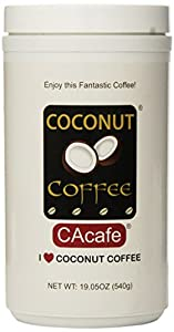 Cacafes Coconut Coffee in Jar #28528 (Cane Sugar Added)30ml/1.0 fl.oz
