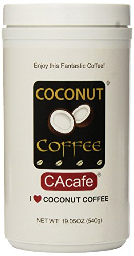 Cacafes Coconut Coffee Made with REAL Coconut