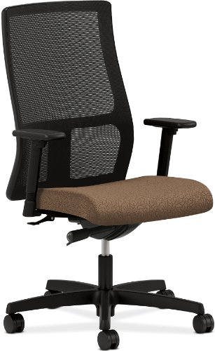hon ignition work chair with arrondi carob fabric seat reviews best chairs office. Black Bedroom Furniture Sets. Home Design Ideas