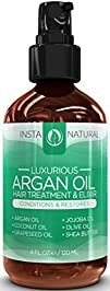 InstaNatural Argan Oil Hair Treatment…