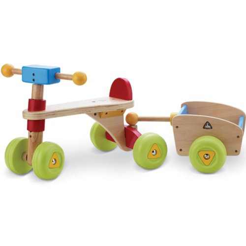 ride on toddler toys ride on toys wooden trike and trailer toddler push ride ons for. Black Bedroom Furniture Sets. Home Design Ideas