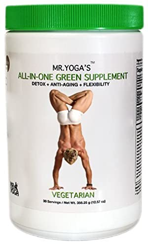 Mr. Yoga's: Detox + Anti-Aging + Flexibility Supplement.
