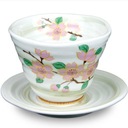 Japanese Arita Ware Tea Cup & Saucer Sakura (Tea Cup 1Pc Saucer 1Pc)