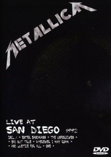 Metallica - Live at San Diego 1992 [Edizione: Regno Unito]