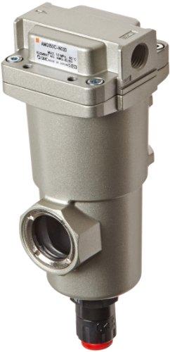 "Smc Amg150C-N02D Water Separator, N.O. Auto Drain, 300 L/Min, 1/4"" Npt"