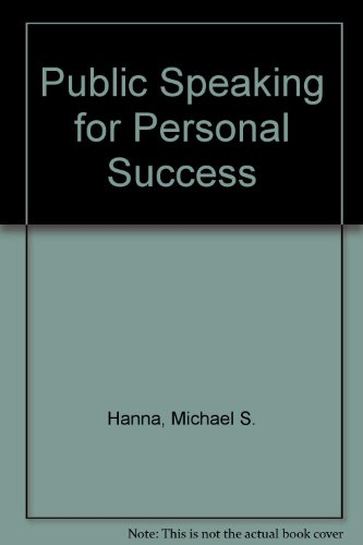 Public Speaking for Personal Success