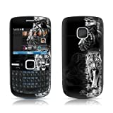 White Tiger Design Protective Skin Decal Sticker for Nokia C3 Smartphone Cell Phone