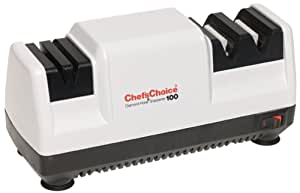 Chef's Choice 100W Diamond Hone Knife Sharpener, White