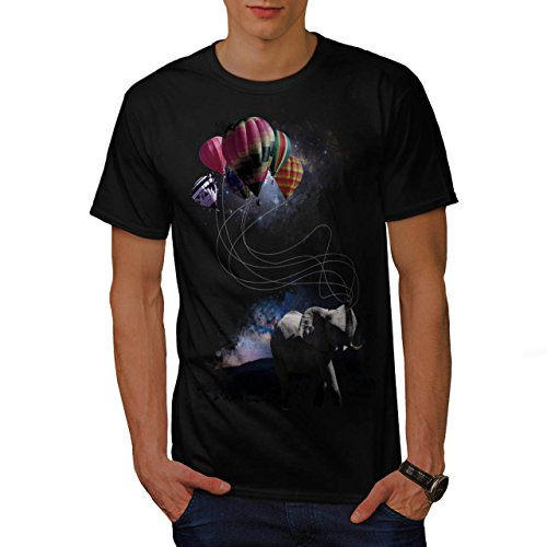 dreaming-elephant-animal-dream-men-new-black-m-t-shirt-wellcoda