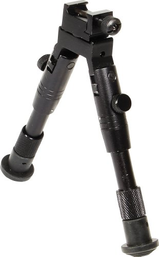 UTG Bipod, SWAT/Combat Profile, Adjustable Height
