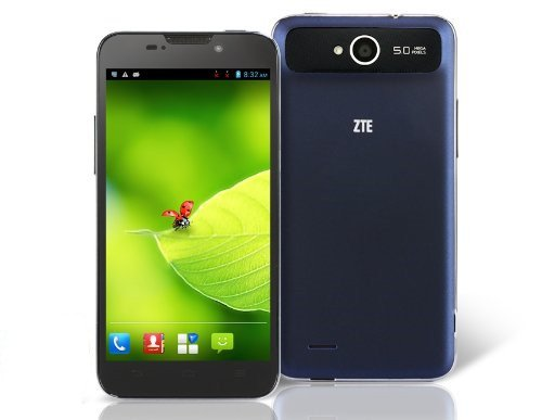 "ZTE V967S 5.0"" Capacitive IPS Touch 960x540 Android 4.1 Quad Core MTK6589 1.2GHz 1GB RAM & 4GB ROM 3.."