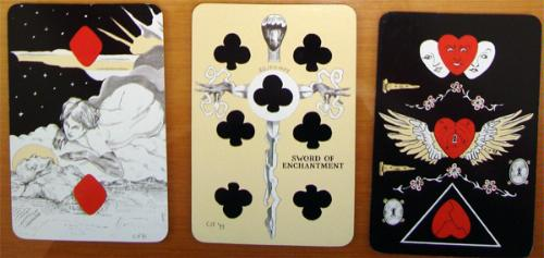 Playing Card Oracles Book & Deck Set [With 2 Deck or Oracle Cards