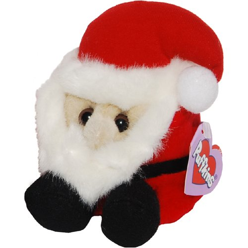 Ho Ho the Christmas Santa Claus - Puffkins Bean Bag Plush - 1