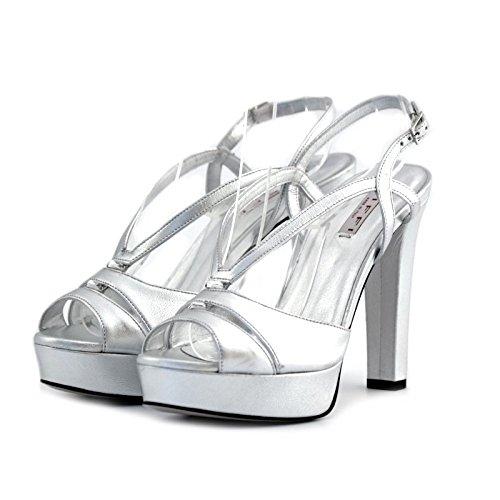 Sandali gioielli Tiffi argento 38