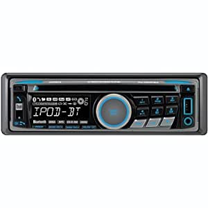 Dual XDMA6415 200-Watt AM/FM/CD/MP3/WMA Receiver with Built-In Bluetooth (Black)