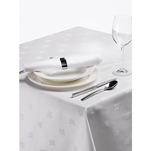 pack-of-6-large-white-egyptian-cotton-ivy-leaf-damask-napkins-by-sleepbeyond-22-x-22-55-x-55cm