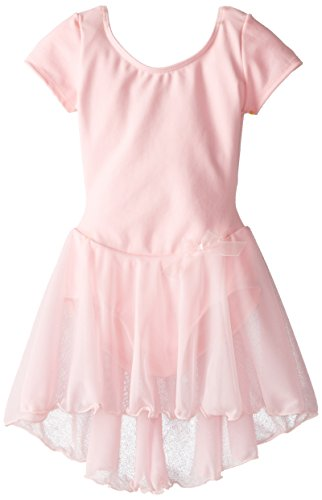 capezio-little-girls-short-sleeve-nylon-dresspinki-6-8