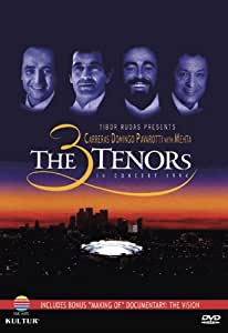 The 3 Tenors In Concert 1994 with The Vision: Making of the Concert