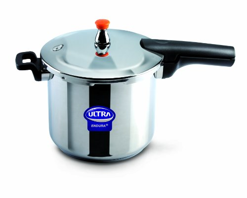 Elgi Ultra EU-8L Stainless Steel Pressure Cooker, 8-Liter (Ss Pressure Cooker compare prices)