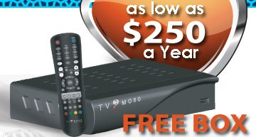TV2MORO BOX with free Premium Service for 1 Year TV2MORO INC