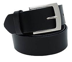Walletsnbags Novapull Casual Leather Belt (B6_Black_38)