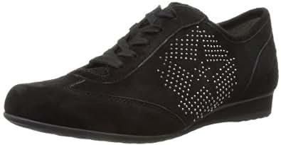 Gabor Womens Flamboyant Black Low-Top Trainers 76.355.47 4.5 UK, 37 EU