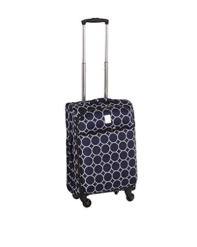Jenni Chan Aria Park Ave 21 Inch Spinner Luggage, Navy