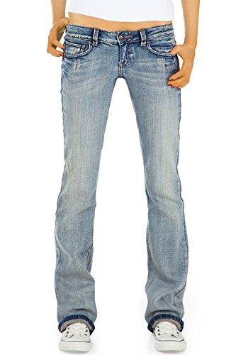Bestyledberlin Donna Pantaloni Jeans, bootcut / Jeans j23kw 38/M Blu