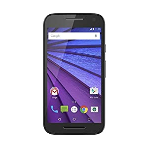 Motorola Moto G (3rd Generation) - Black - 16 GB - Global GSM Unlocked Phone