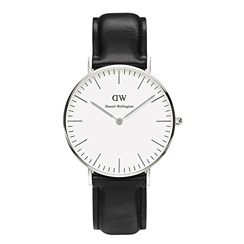 Daniel Wellington Women's Quartz Watch Classic Sheffield Lady 0608DW with Leather Strap