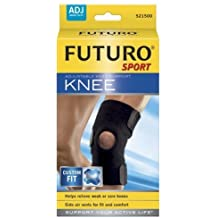 Futuro Sport Adjustable, Knee Support, 1 Support (Pack Of 2)