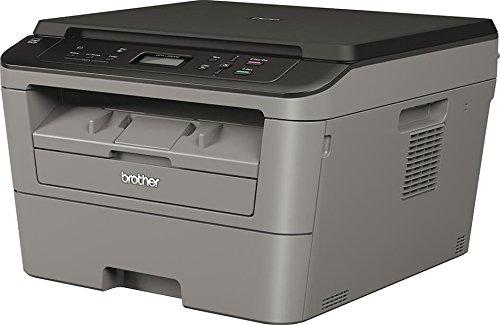Brother DCPL2500DM1 Stampante Multifunzione, Nero/Antracite