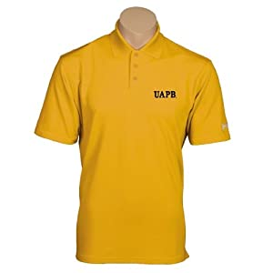 Arkansas Pine Bluff Under Armour Gold Performance Polo