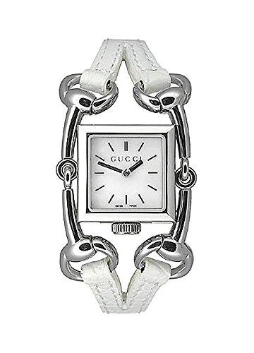 Gucci YA116504 - Orologio da polso donna, colore: bianco