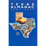 Texas Almanac 2002-2003: 2000 Census Data [Hardcover]