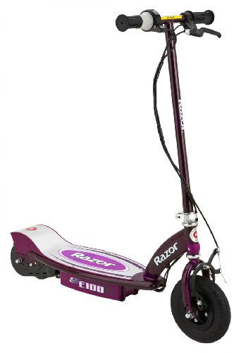 Razor E100 Motorized 24V Electric Scooter (Purple)