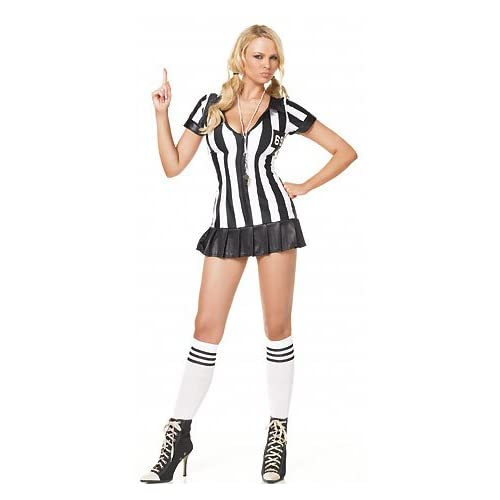 Sexy Girls in Game Official - Women's Sexy Referee Costumes Lingerie Outfit
