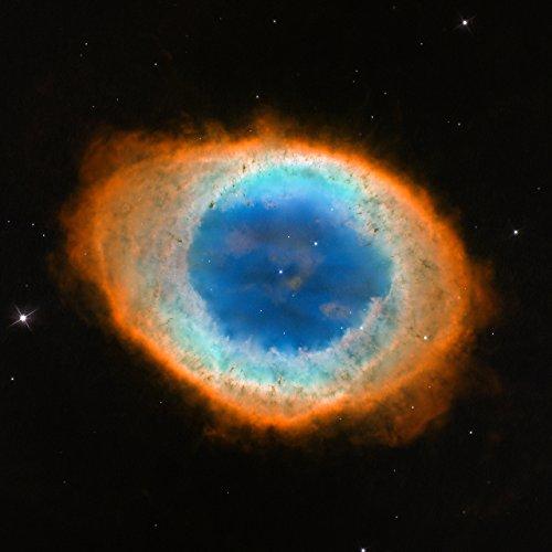 Hubble Space Telescope The Ring Nebula Poster Art Photo Nasa Posters Photos 12X12