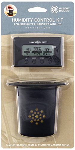 Planet Waves Acoustic Guitar Humidifier with Digital Humidity & Temperature sensor - 1