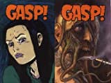 "Gasp! Anthology Includes ""Buck Godot"" by Phil Foglio, ""Don Simpsons Bizarre Heroes"" ""Elflord"" by Barry Blair, ""Greymatter"" by A. Harwell and M. Harwell, ""Poison Elves"" by Drew Hayes, ""Strangers in Paradise"" by Terry Moore, ""THB"" by Paul Pope"