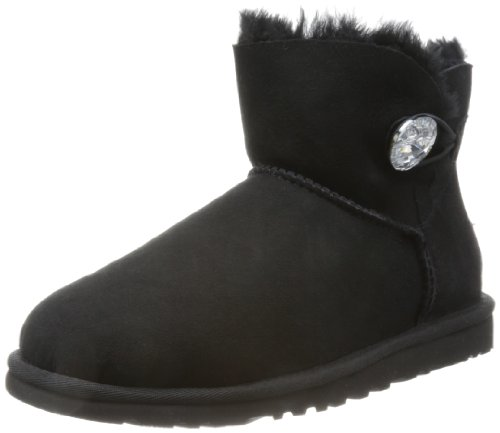 ugg-mini-bailey-button-bling-scarpe-a-collo-alto-donna-nero-38