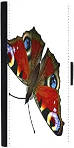 Snoogg Butterfly Designer Protective Phone Flip Case Cover For Coolpad Note 3 Lite
