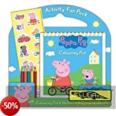 Peppa Pig Activity Fun Pack (inglese import)
