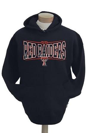 NCAA Mens Texas Tech Red Raiders Brody Hooded Sweatshirt by CI Sport