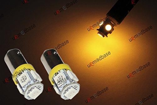 2x-5-smd-led-bright-yellow-amber-orange-233-t4w-ba9s-bayonet-bulbs-lamp-light