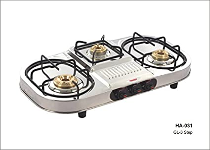 GL 3 3B Step Gas Cooktop (3 Burner)
