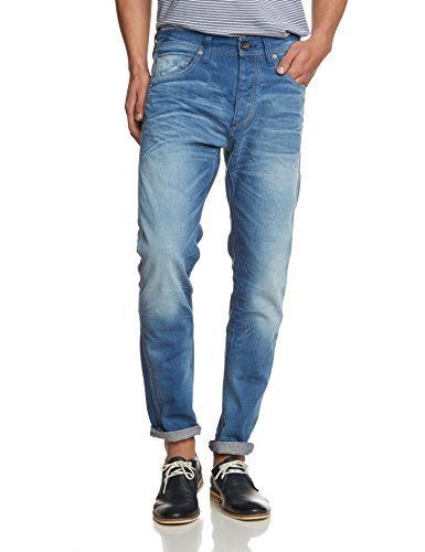 SELECTED HOMME - Five Rico 1353 Jeans I, Jeans boyfriend cut da uomo, blu(blau (medium blue denim)), 46 it (32w/26l