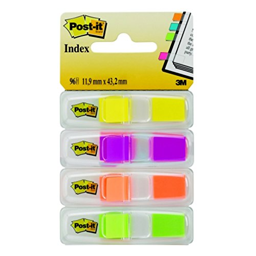post-it-marcapaginas-adhesivos-4-colores-x-24-unidades-con-dispensador-transparente