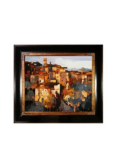 "Alex Bertaina ""Toscane"" Framed Canvas Print"