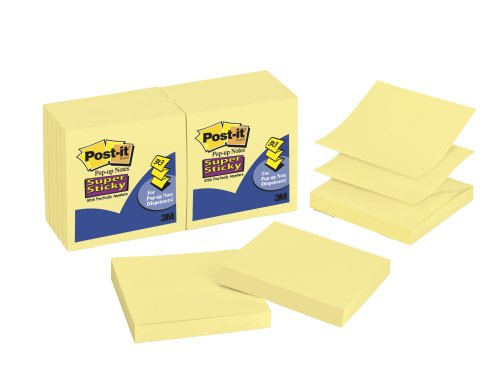 post-it-super-sticky-pop-up-notes-3-x-3-inches-canary-yellow-12-pads-pack